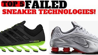 Top 5 FAILED Sneaker Cushioning Technologies! - dooclip.me
