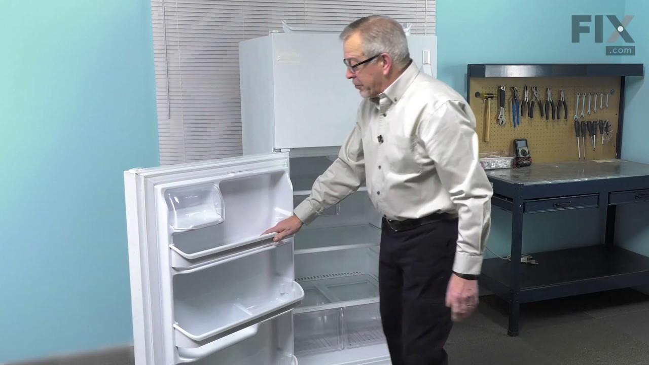 Replacing your Frigidaire Refrigerator Door Shelf Retainer Bar