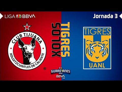Resumen | Tijuana vs Tigres UANL | Liga BBVA MX – Guardianes 2020 – Jornada 3