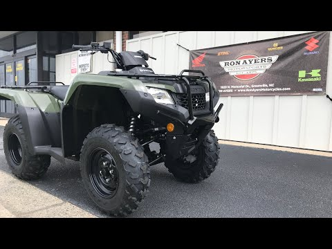 2021 Honda FourTrax Rancher in Greenville, North Carolina - Video 1
