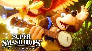 Super Smash Bros. Ultimate Challenger Pack 3 Banjo & Kazooie