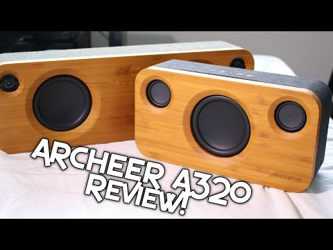 BEST $80 BLUETOOTH SPEAKER – ARCHEER A320 REVIEW! + SOUND DEMO