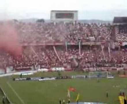 """Inter x Juventude -Final Gauchão 08 - Entrada Guarda Popular Colorada - Vamo Vamo Inter"" Barra: Guarda Popular • Club: Internacional"