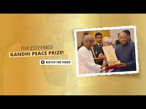 Akshaya Patra conferred with the Gandhi Peace Prize