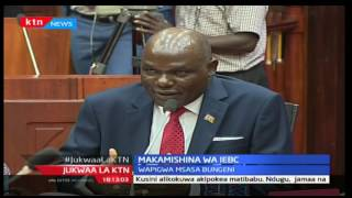 Jukwaa la KTN: Shughuli ya kuwahoji makamishina wa IEBC imeanza