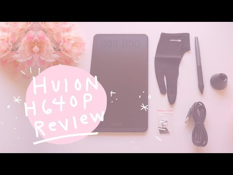 Huion H640P Tablet Review + first ever digital speed paint