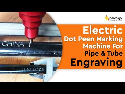 Portable Metal Marking Machine For tube/pipe engraving