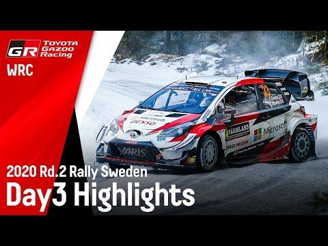 2020年WRC第2戦ラリー・スウェーデン ToyotaGazooRacing 最終日ハイライト動画