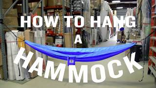 Next Adventure - How To Hang A Hammock