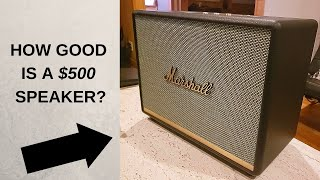 MARSHALL WOBURN II 2 REVIEW, UNBOXING A $500 SPEAKER, IS IT WORTH IT??