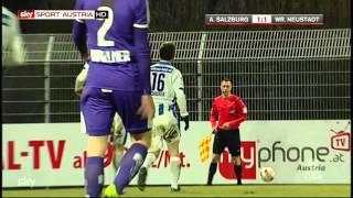 Sky Go Erste Liga, 21. Runde: Austria Salzburg Vs. Wr. Neustadt  2:2 (Video-Highlights)