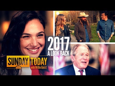 Take A Look Back At Sunday TODAY With Willie Geist In 2017 | Sunday TODAY