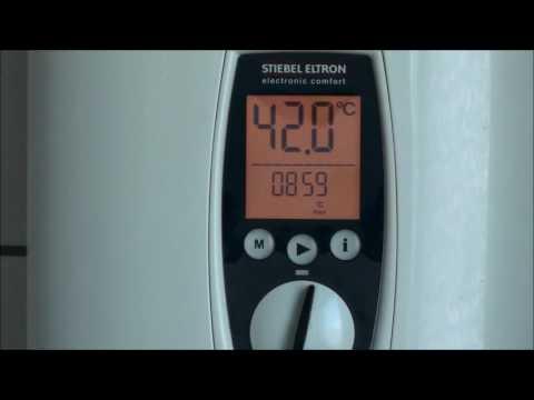 vollelektrisch geregelter Durchlauferhitzer - Stiebel Eltron DHE 18/21/24 SL