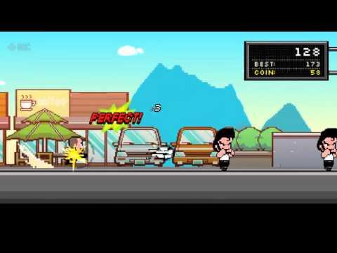 Kick Hero World Record- Arcade Game/ second boss :  200 Kick 20xPerfect💪🏾