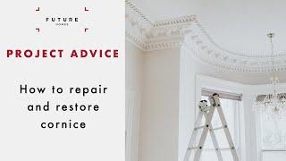 How To Repair And Restore Cornice