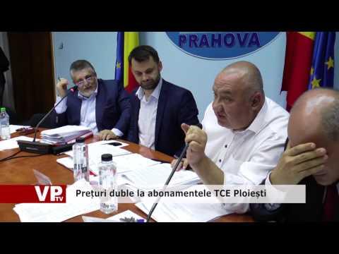 Prețuri duble la abonamentele TCE Ploiești