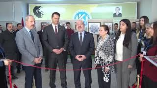 """Mustafa Çıkrıkçıoğlu MYO'da """"Geleneksel Yıl Sonu Sergisi"""" Açıldı"""