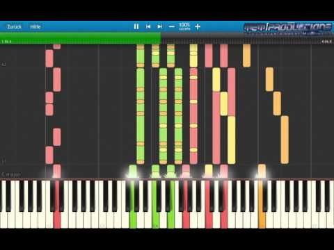 Piano Tutorial: Modern Talking - Atlantis Is Calling (S.O.S. for Love) + MIDI Download