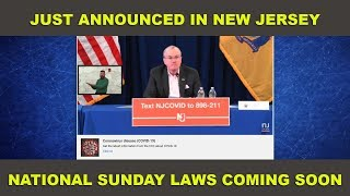 Sunday Laws Coming SOON!