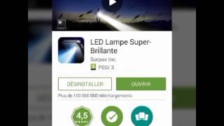 TUTO:Comment Avoir Une Lampe Torche Sur Android