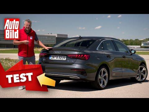 Audi A3 Limousine (2020): Test - Fahrbericht - Kompakt - Info