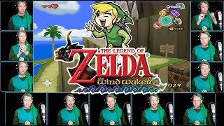 Zelda - The Wind Waker - Dragon Roost Island Acapella