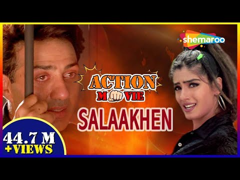 Download Salaakhen {HD} - Hindi Full Movie - Sunny Deol - Raveena Tandon - Bollywood Action Movie HD Mp4 3GP Video and MP3