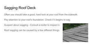 3 Roofing Signs - Roof Consultants Jonesboro AR