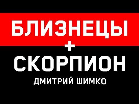 БЛИЗНЕЦЫ+СКОРПИОН - Совместимость - Астротиполог Дмитрий Шимко