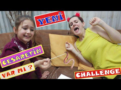 Cesaretin Var mı Challenge Eğlenceli Video  EvdeKal  SendeOyna