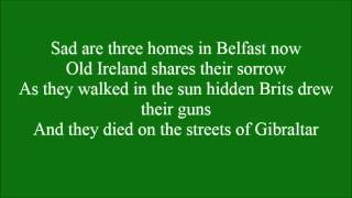 The Streets Of Gibraltar With Lyrics