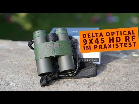 delta optical: Im Praxistest mit Video: Das Fernglas Delta Optical Titanium 9x45 HD RF mit Entfernungsmesser