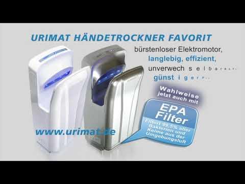 Hygiene-shop.eu - LEADING IN HYGIENE - Schrama Handels GmbH - Urimat Händetrockner Favorit