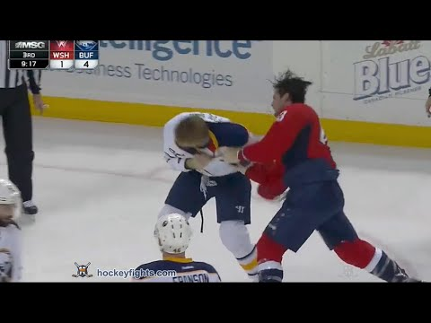 Marcus Foligno vs. Tom Wilson