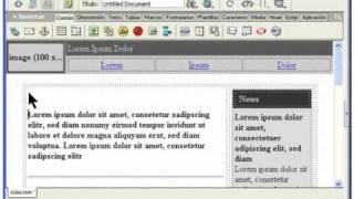04.- Curso Dreamweaver MX.Creación de la página index.htm