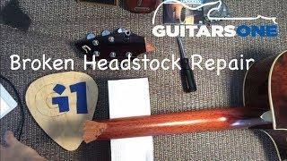 Broken Headstock repair