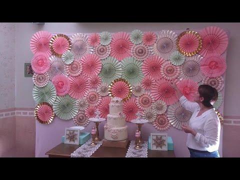 Segundo tutorial de Panel de Flores y pantallas de papel