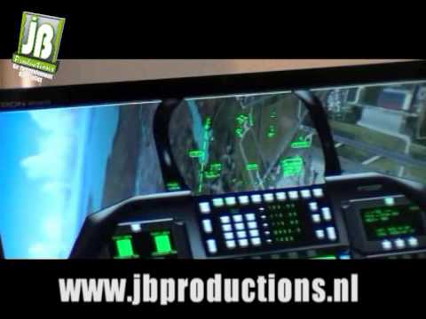 F16 Vlieg Simulator | JB Productions