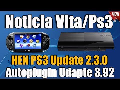 NOTICIA - Nuevo Autoplugin 3 92 y Nuevo HEN 2 3 0 PS3