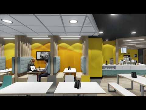 Office restaurant walkthrough by Stangard