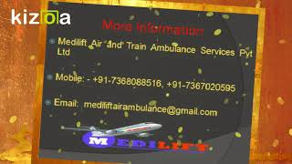 Get Medical Emergency Air Ambulance Service in Ranchi