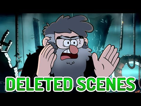 Gravity Falls DELETED SCENES! Bill Cipher Alternate Moments & Scrapped Storylines Explained!