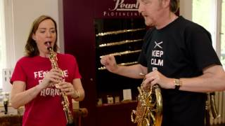 Albrecht Mayer takes the Sarah's Music Horn Challenge