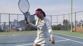 Đánh Tennis trong GTA 5, bạn đã chơi thử qua chưa?