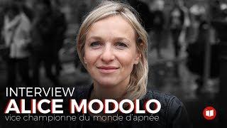 Interview : Alice Modolo, vice-championne du monde d'apnée
