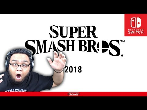 SMASH 5 ON SWITCH ANNOUNCEMENT REACTION (BAITED)
