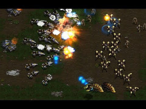 Snow (P) v Korean (T) on Tau Cross 1.1 - StarCraft  - Brood War REMASTERED 2019