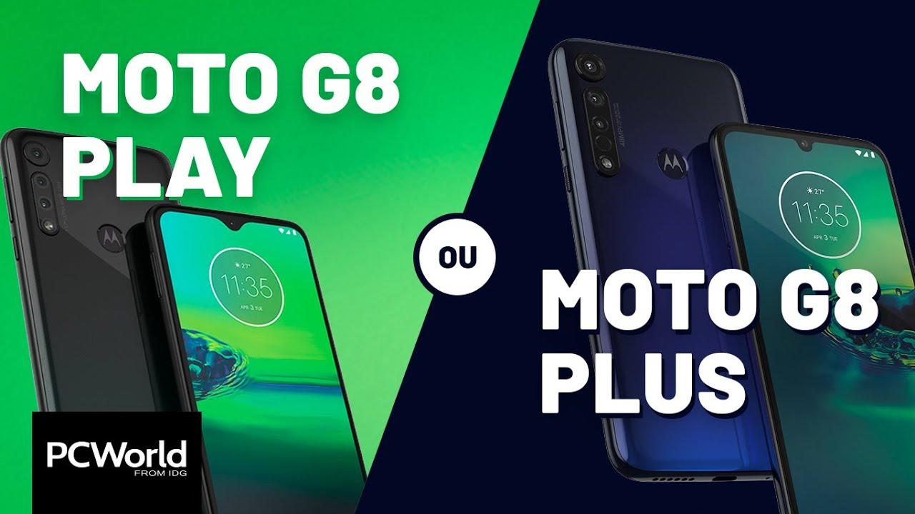Moto G8 Play ou G8 Plus: qual a diferença?