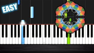 Coldplay - Hymn For The Weekend - EASY Piano Tutorial by PlutaX