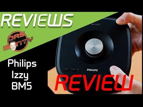 Philips Izzy BM5 Review - Test der Bluetooth-lautsprecher - Speaker - Deutsch German - Das Monty